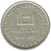 10 litų – avers