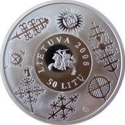 50 litų (Les croix de Lituanie) – avers