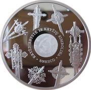 50 litų (Les croix de Lituanie) – revers