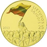 25 litai (Mouvement réformateur de Lituanie) -  revers