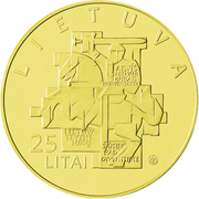 25 litai (Mouvement réformateur de Lituanie) -  avers