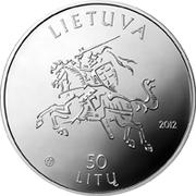 50 litų (Birth of Maironis) – avers