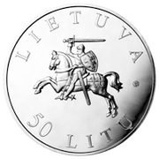 50 litų (Vilnius - European Capital of Culture) – avers