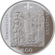 50 litų (Christening of Samogitia) – revers