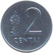 2 centai -  revers