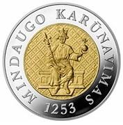 200 litų (750th anniversary of the crowning of Mindaugas) – revers