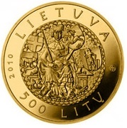 500 litų (600th anniversary of the Grünwald Battle) – avers