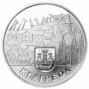10 litų (Klaipeda) -  avers