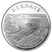 50 litų (Kernave) – revers