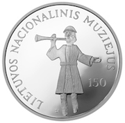 50 litų (150th anniversary of the National Museum of Lithuania) – revers
