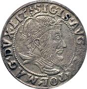 Grosz litewski - Sigismond II Auguste (différent lituanien - 4e type) – avers