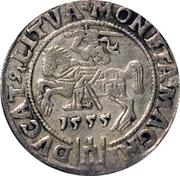 Grosz litewski - Sigismond II Auguste (différent lituanien - 4e type) – revers