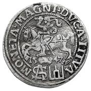 Grosz litewski - Sigismond II Auguste (différent polonais - 1er type) – revers