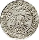 Półgrosz - Zygmunt II August – avers