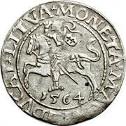 Półgrosz - Zygmunt II August – revers