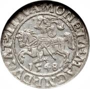 Półgrosz litewski - Sigismond II Auguste – revers