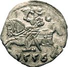 Denar litewski-Sigismond II Auguste – avers