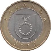 2 litai (Palanga) – revers
