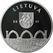 50 litų (Vilnius Upper Castle) – avers