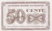 50 Centu – revers