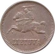 1 centas – avers