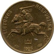 10 centų – avers