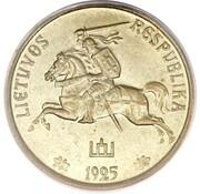 5 centai (Essai d'avers) – avers