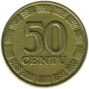 50 centų -  revers