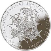 50 litų (Presidency of the EU Council) – revers
