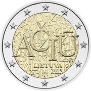 2 euros Langue lituanienne -  avers