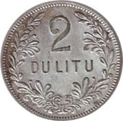 2 litų -  revers