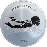20 euros JO 2016 Jeux d'été de Rio de Janeiro -  avers