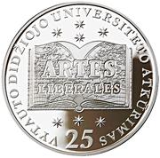 50 litų (25th Anniversary Vytautas Magnus University) – revers