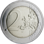 2 euros Chants et danses lituaniennes -  revers