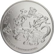 1,50 euros Journée des physiciens -  avers