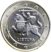 1 euro -  avers