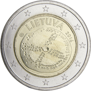 2 euros Culture balte -  avers