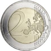 2 euros Culture balte -  revers