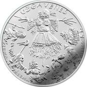 1½ Euro (Mardi Gras) -  avers