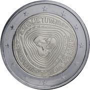 2 euros Sutartinė -  avers