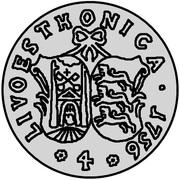 4 kopecks Élisabeth I (Krasny; essai; type 2) – revers
