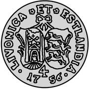 4 kopecks Élisabeth I (Krasny; essai; type 1) – revers