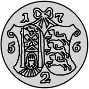 2 kopecks Élisabeth I (Krasny; essai) – revers