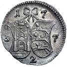 2 kopecks Élisabeth I (Krasny) – revers