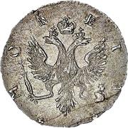 4 kopecks Élisabeth I (Krasny) – avers