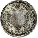 24 kopecks Élisabeth I (refrappe; matrice d'avers origine; grand flan) – revers