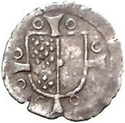 1 pfennig Wolter von Plettenberg (Riga; une bouclier) – avers