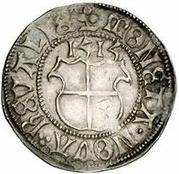 1 ferding Wolter von Plettenberg (Reval; haut bosselé; enfant à gauche) – revers