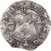 1 schilling Heinrich von Galen (Wenden) – avers