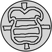 1 pfennig Hermann von Brüggeneye (Riga) – avers